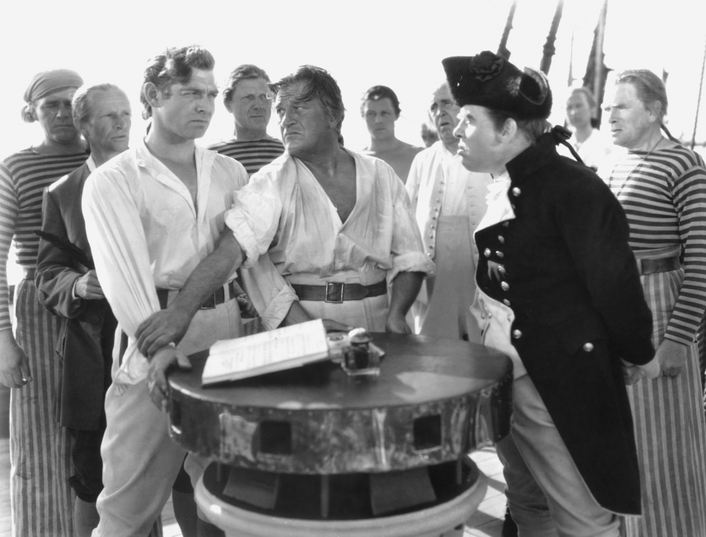 Muntiny on the bounty- gable and laughton